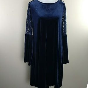 Women's Tommy Hilfiger Dark Royal Blue Sz10 Dress